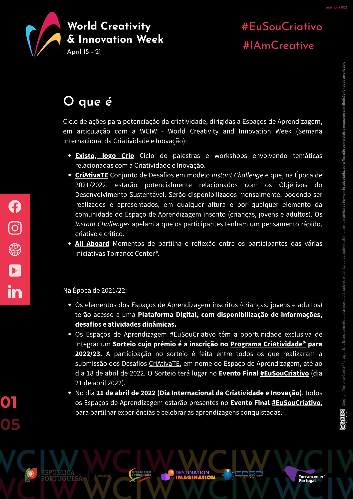 #EuSouCriativo